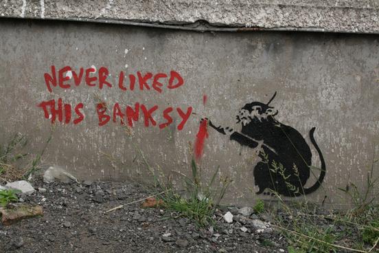 banksy love plane