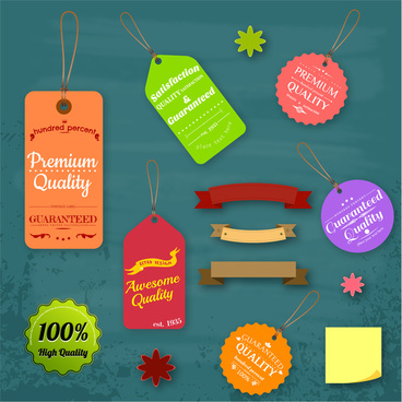 banner and sale tag collections