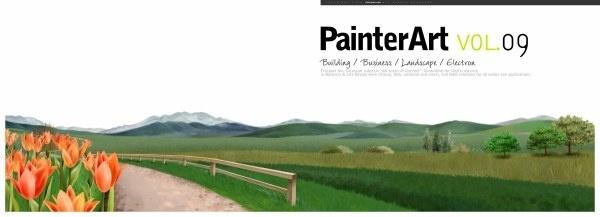banner illustrator landscape psd layered 1