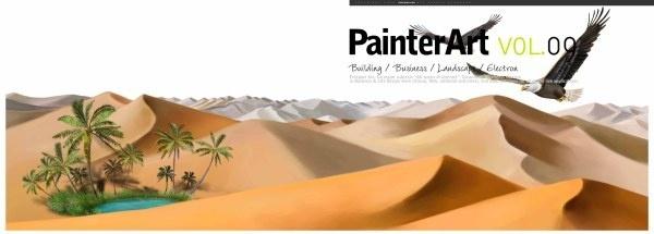 banner illustrator landscape psd layered 7