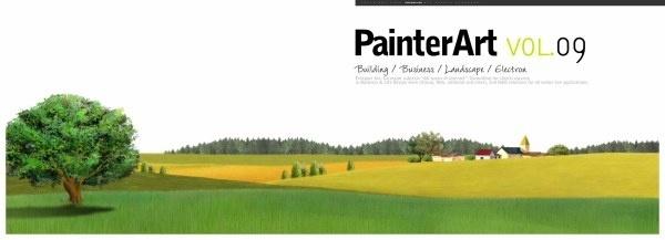 banner illustrator landscape psd layered 8
