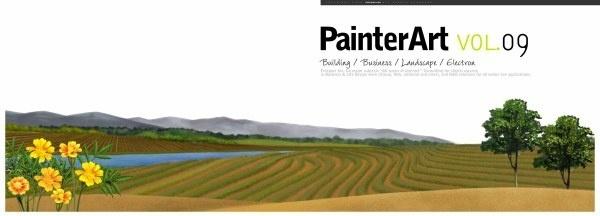 banner illustrator landscape psd layered 9