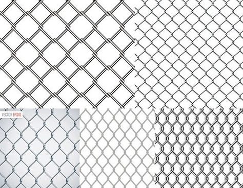 barbed wire backgrounds modern flat seamless symmetric sketch