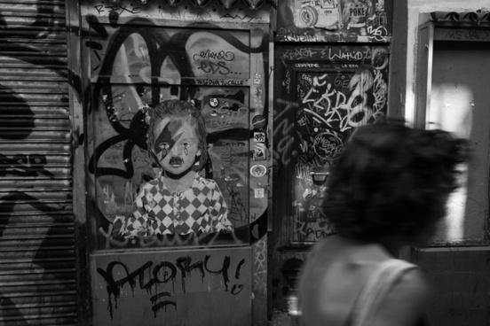 barcelona old town street art