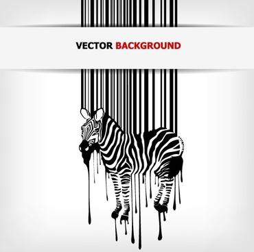 barcode background 01 vector