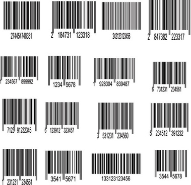 Barcode vector free vector download (73 Free vector) for commercial ...