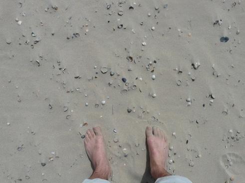 barefoot feet ten