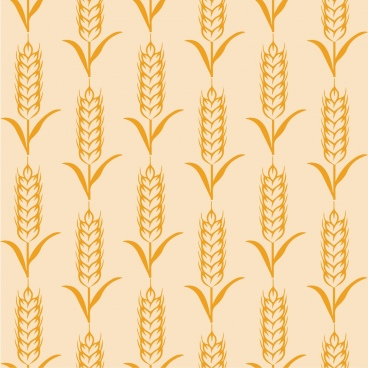 barley background yellow repeating decoration