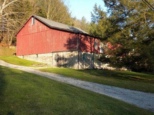 barn farm rural