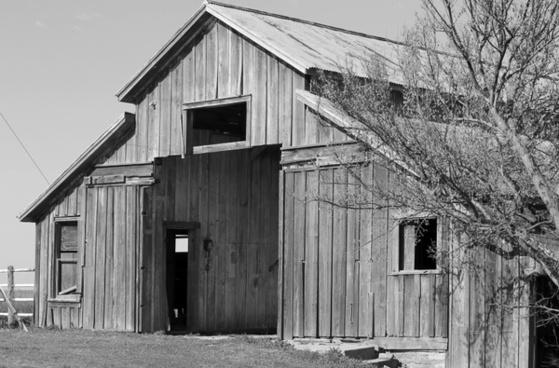 barn historic fort reno