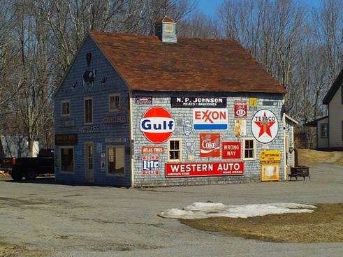 barn signs advertising