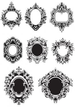barocco frame free cdr vectors ar