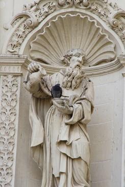 baroque still image dove