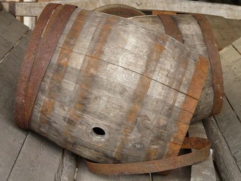 barrel wooden barrels wood
