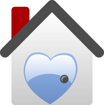 Barretr House Love clip art