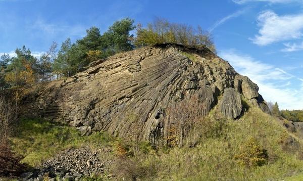 basalt rock formation columnar basalt