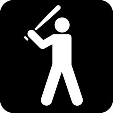 Baseball Field clip art