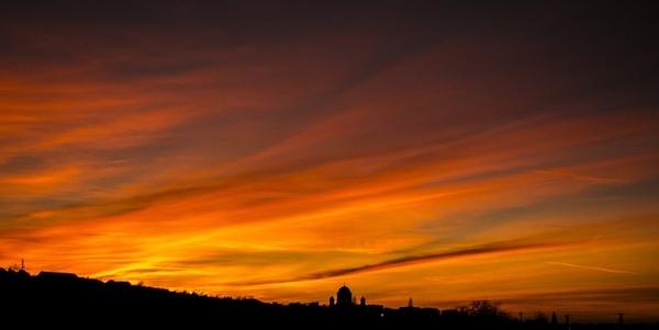 basilica esztergom sky