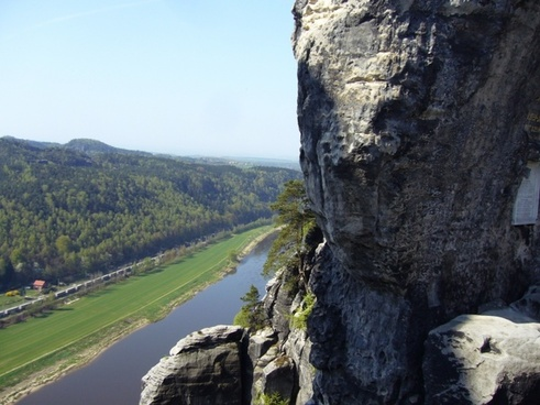 bastion views saxon switzerland