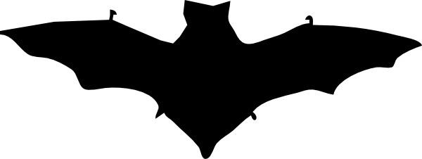 Bat Silhouette clip art