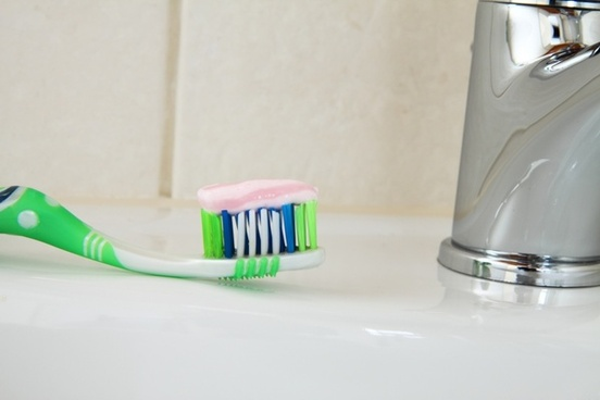 bathroom brush care