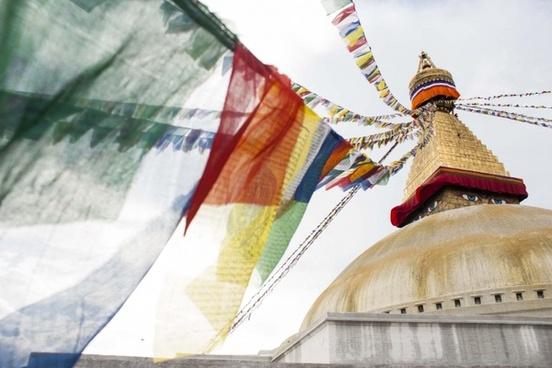 baudha stupa colors
