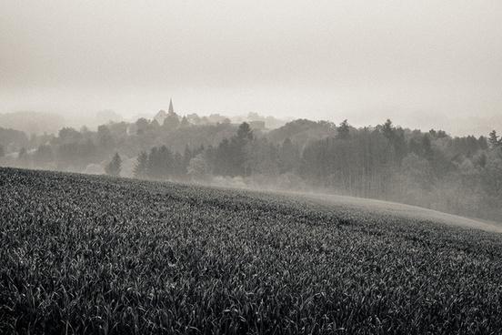 bavarian silver landscape
