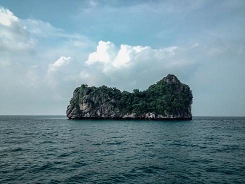 bay beach boat coast coastline cove holiday island