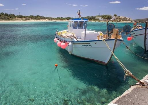 bay beach boater coast coastline daytime holiday