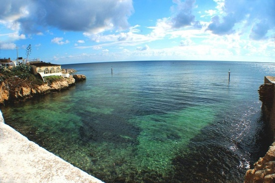 bay beach caribbean coast coastline holiday island