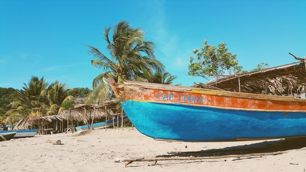 bay beach coast coastline destination exotic holiday