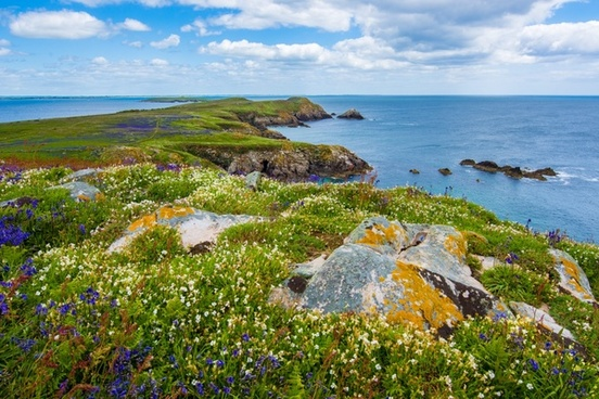 bay beach coast coastline holiday horizon landscape