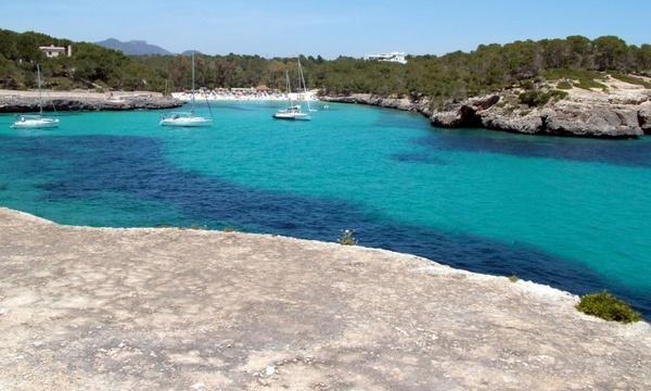 bay with sailing boats