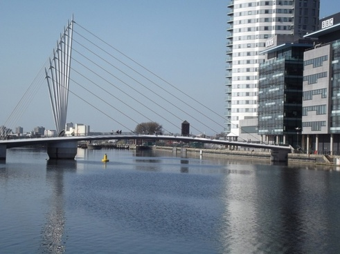 bbc media city bridge salford