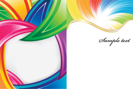 be riotous with colour lines background vector graphic