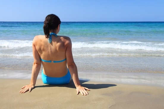 beach beautiful blue