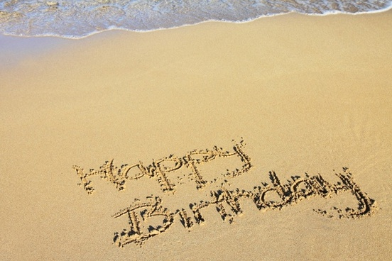 beach birthday celebration