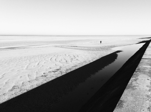 beach black and white coast cold frozen ice