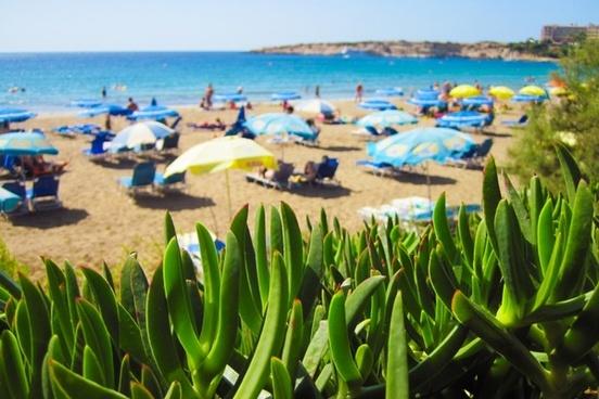 beach blue chairs