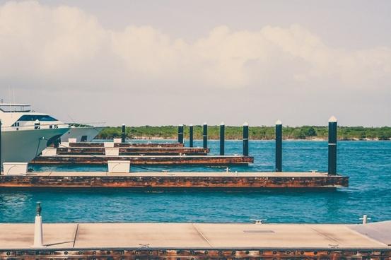 beach boat bridge cargo city coast dock harbor
