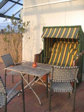 beach chair table chair