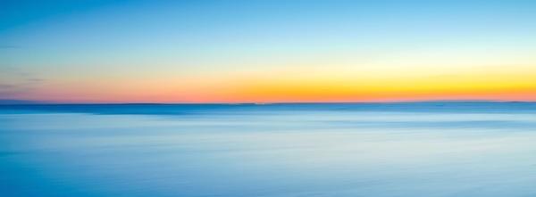 beach cloud dawn horizon horizontal landscape ocean