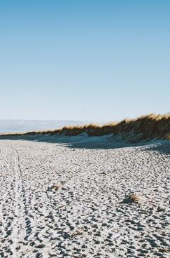 beach coast coastline desert frozen horizon ice
