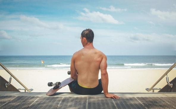 beach coast coastline fitness holiday leisure