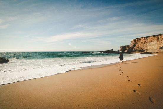 beach coast coastline holiday horizon island