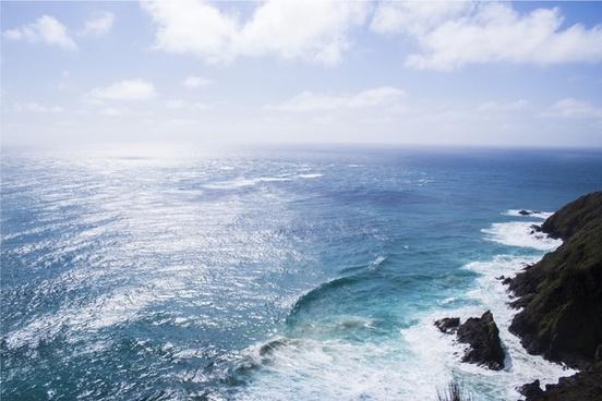 beach coast coastline holiday horizon landscape