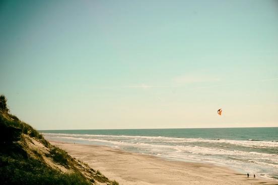 beach coast coastline horizon landscape leisure