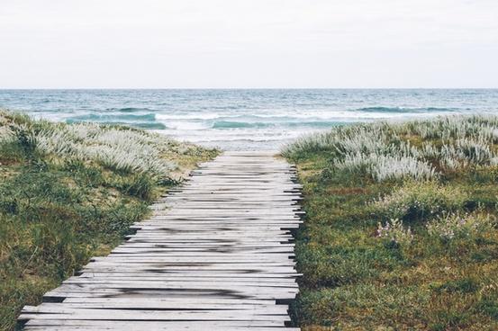 beach coast holiday horizon lake landscape nature