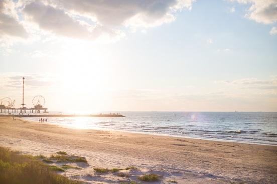 beach coast holiday landscape leisure nobody ocean