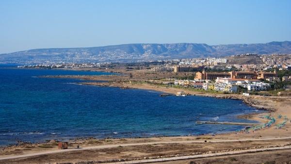 beach cyprus coast